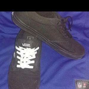 Men's size 12 Vans shoes